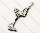 Stainless Steel Butterfly Pendant -JP140055