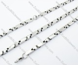 Stainless Steel jewelry set -JS100038