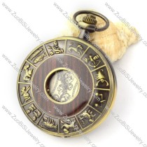 Antique Mechanical Pocket Watch with chain -pw000382