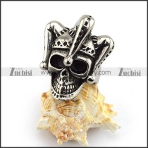 Clown Skull Ring r003628