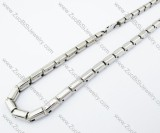 Stainless Steel necklace -JN100044