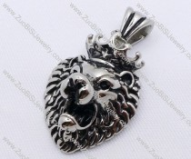 Stainless Steel Lion King Pendant - JP170130