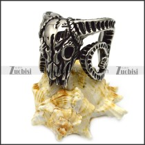 vintage sheepshead skeleton ring r005597