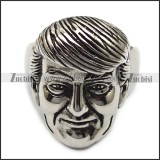 Trump Stainless Steel Ring r005514