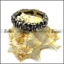 vintage skull ring for women r005607