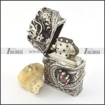 Cool Stainless Steel Dragon Lighter for Men a000021