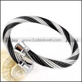 Stainless Steel Rope Bracelet - b000057