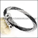 Stainless Steel Rope Bracelet - b000058