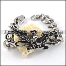 Stainless Steel Eagle Bracelet - b000261