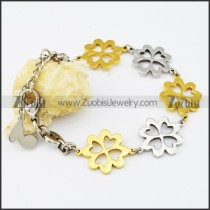 Stainless Steel Flower bracelet - b000529