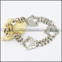 Stainless Steel Flower bracelet - b000534