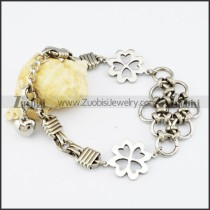 Stainless Steel Flower bracelet - b000512
