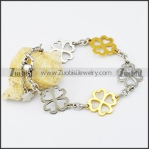 Stainless Steel Flower bracelet - b000526