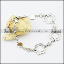 Stainless Steel Flower bracelet - b000532