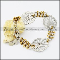 Stainless Steel Flower bracelet - b000530