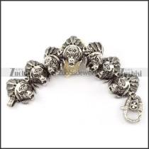 economic 316L Steel  Biker Bracelets for Mens - b000697