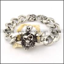 good nonrust steel  Biker Bracelets for Mens - b000700