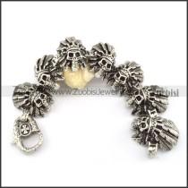 good quality 316L  Biker Bracelets for Mens - b000694