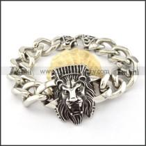 beauteous nonrust steel  Biker Bracelets for Mens - b000703