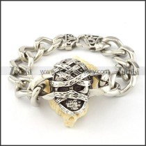 316L Steel  Biker Bracelets for Mens - b000702