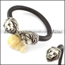 Stainless Steel Lion Bracelet -b000874
