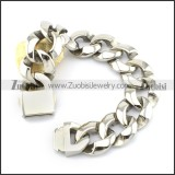 Casting Bracelet in 31L Stainless Steel for Bikers -b000959