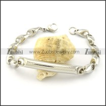 Buy Solid Casting Chain Bracelet with Tube -b001025