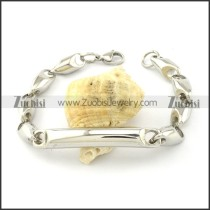 Buy Solid Casting Chain Bracelet with Tube -b001020