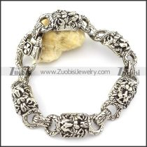 5 Lion Bracelet call Leo Jewelry -b001335