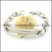 Buy Solid Casting Chain Bracelet with Tube -b001026