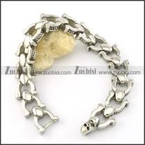 skull bracelet b001563