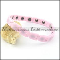 pink ceramics bracelet b001559