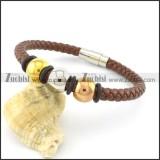 lengt of 21cm leather bracelets b001617