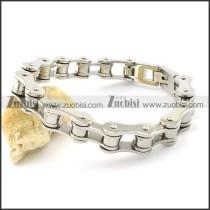 Nice Stainless Steel mens biker bracelets -b001553