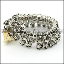 skull bracelet b001566