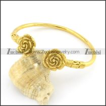 yellow plating rose bangle b001979