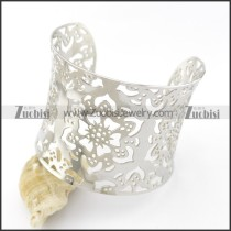 hollow flower bangle for women b002193