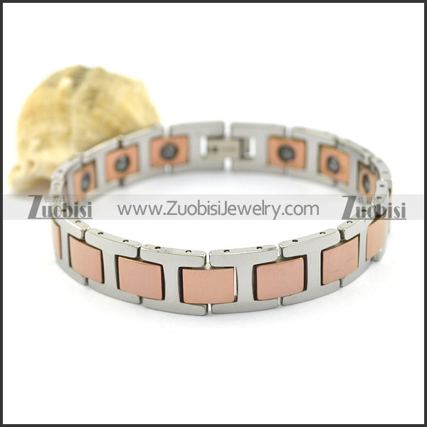 rose gold tungsten bracelet b002197