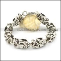 8 dragon heads bracelets b002066