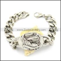 link chain eagle bracelet b002337