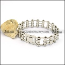 2 layers bike chain bracelet for ladies b002425
