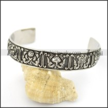 flower wide bangle b002543