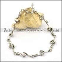 8 snake bracelet with OT buckle b002765
