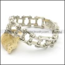 Motorcycle Chain Bracelet for Men in 0.76 Inch Wide b003063