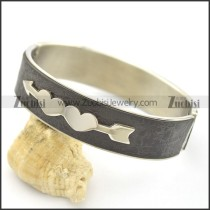 Cupid's Love Arrows Leather Bangle b002986