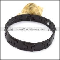 Wholesale Black Tungsten Bracelet b003767