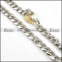 Stainless Steel Necklaces -n000132