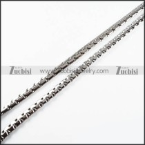 Stainless Steel Necklaces -n000114