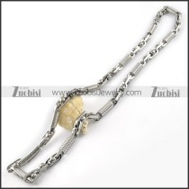 Stainless Steel Necklaces -n000107