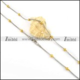 wonderful oxidation-resisting steel Fashion Necklaces for Ladies & Girls - n000139